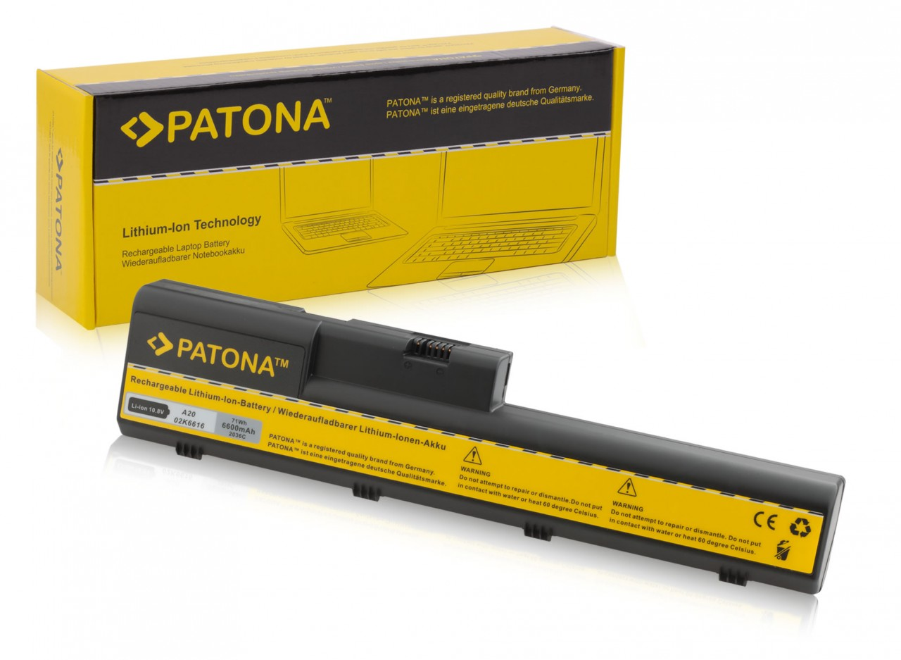 Battery for IBM Thinkpad A20 A21 A22 Serie..