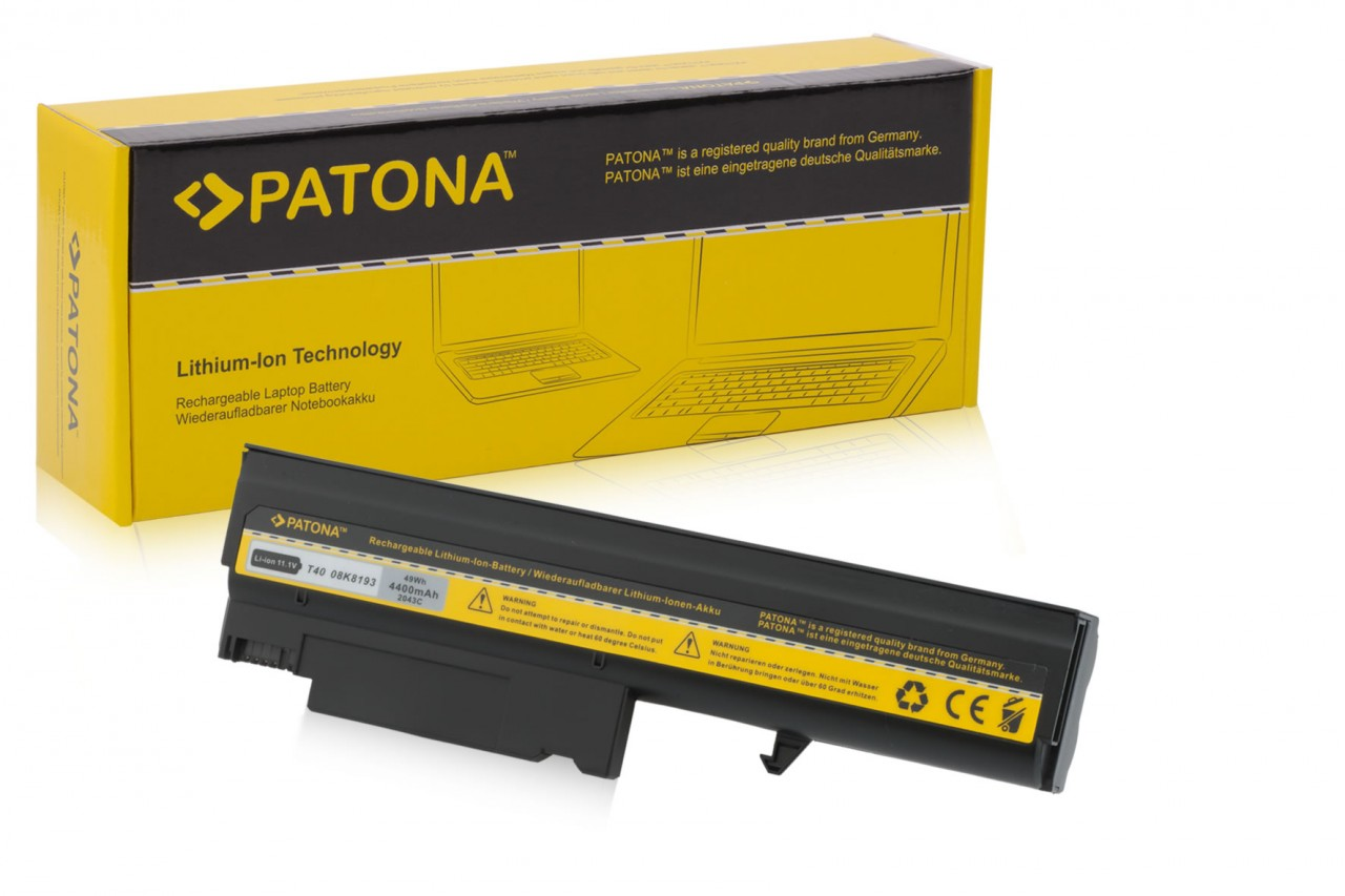 Battery f IBM Thinkpad T40 T41 T42 T43 R51 02K8193 4400 mA