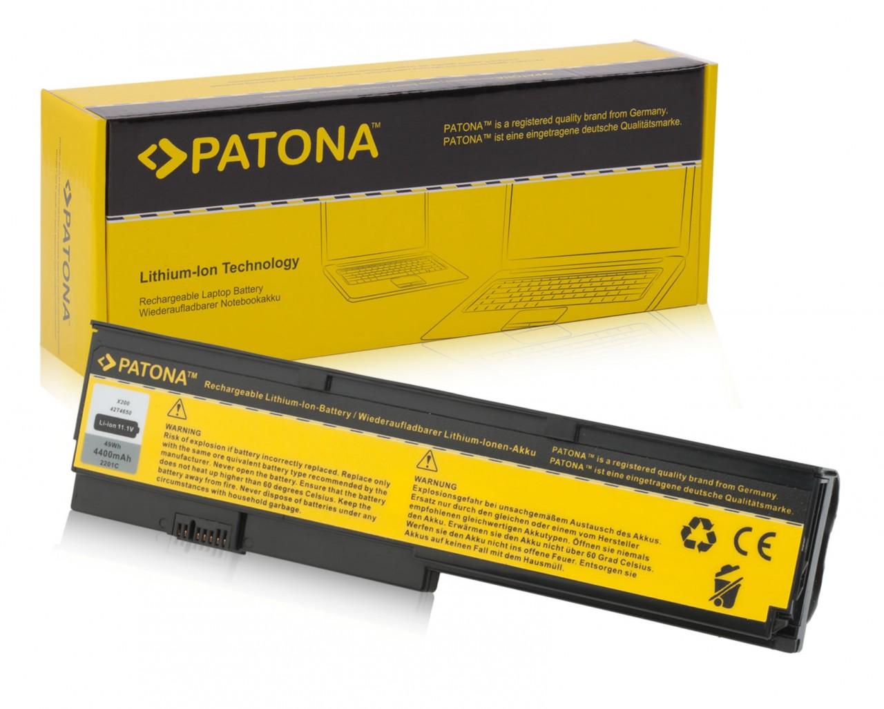 Battery f. IBM X200 X200S 42T4534 2T4535 42T536 42T4538 42T4