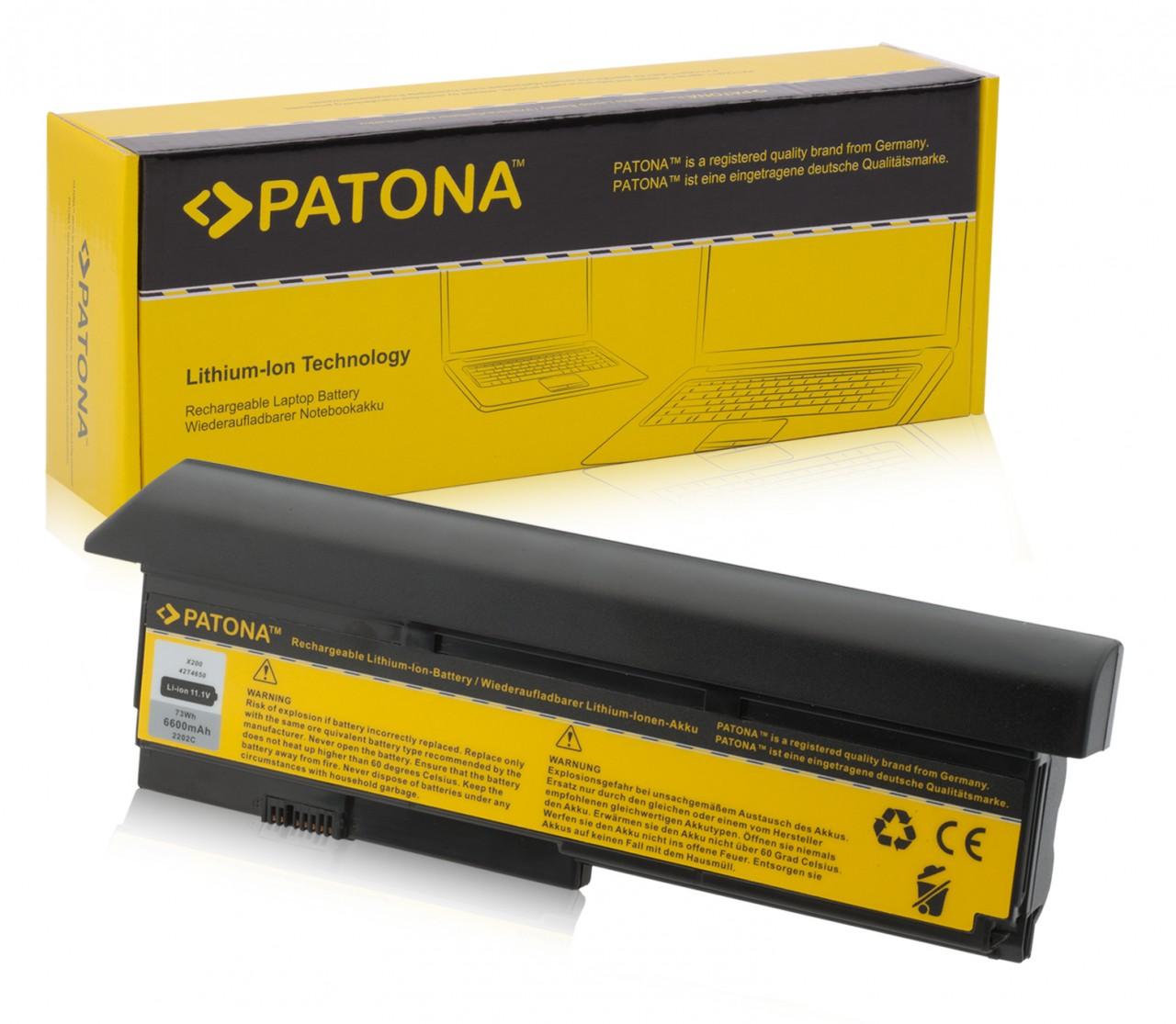 Battery f. IBM X 200 X 200S 42T4543 42T4646 42T4650 42T4560