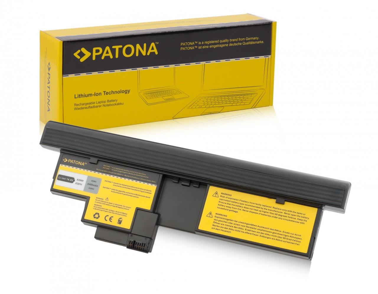 PATONA Battery f. IBM X200 X201 Tablet 43R9256 43R9257 42T45