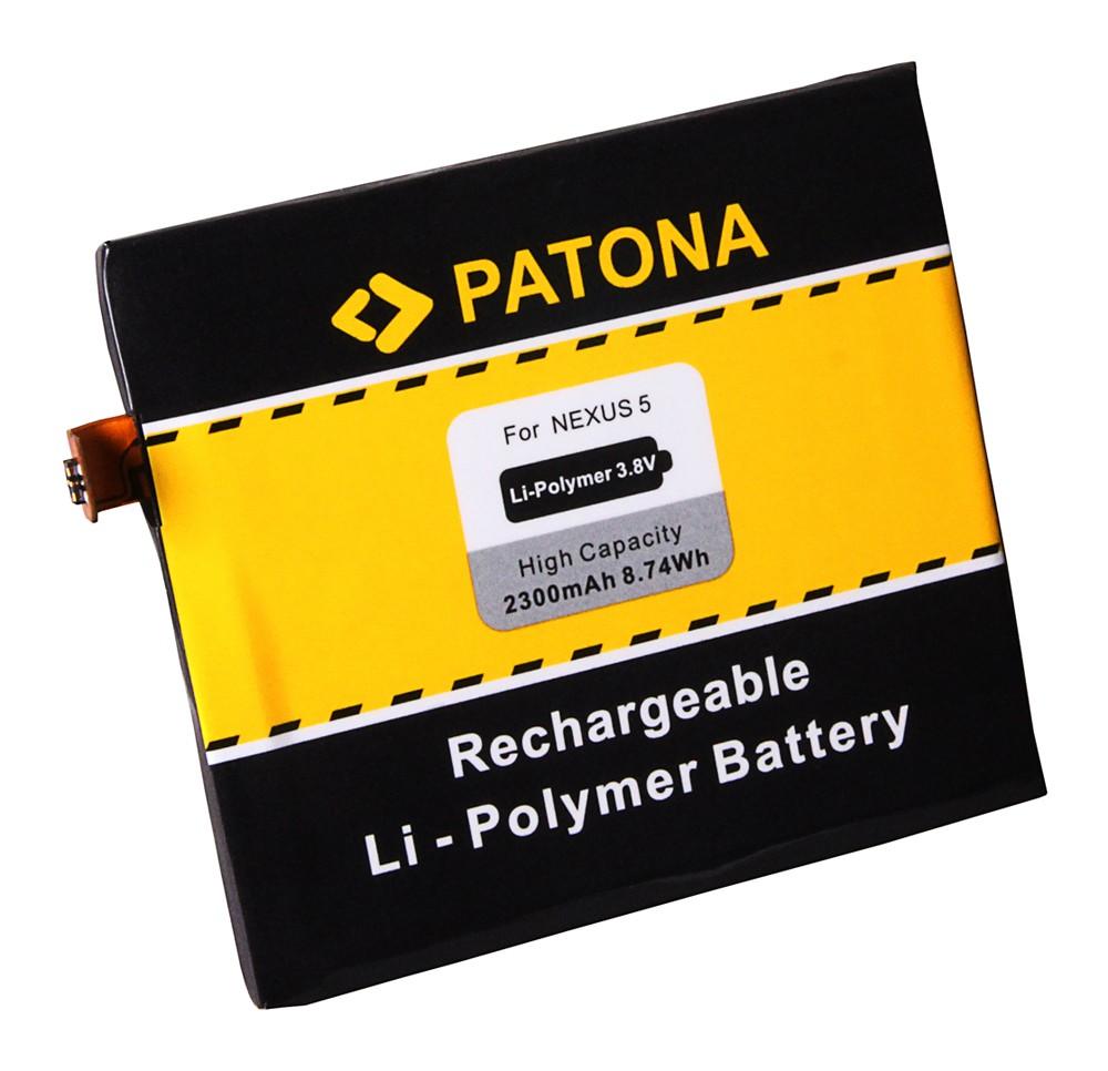 PATONA Battery f. LG Nexus 5, D820, D821 BL-T9, BL-T9, EAC6