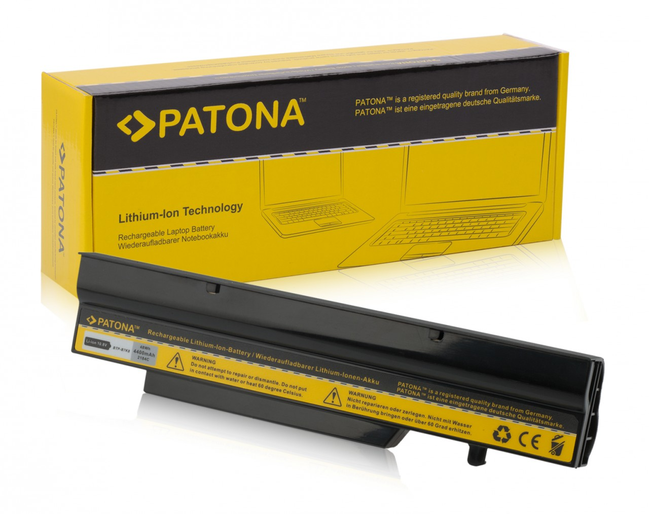 Battery for Medion MD96544 MD97132 MD97148 MD97296 MD97680 A