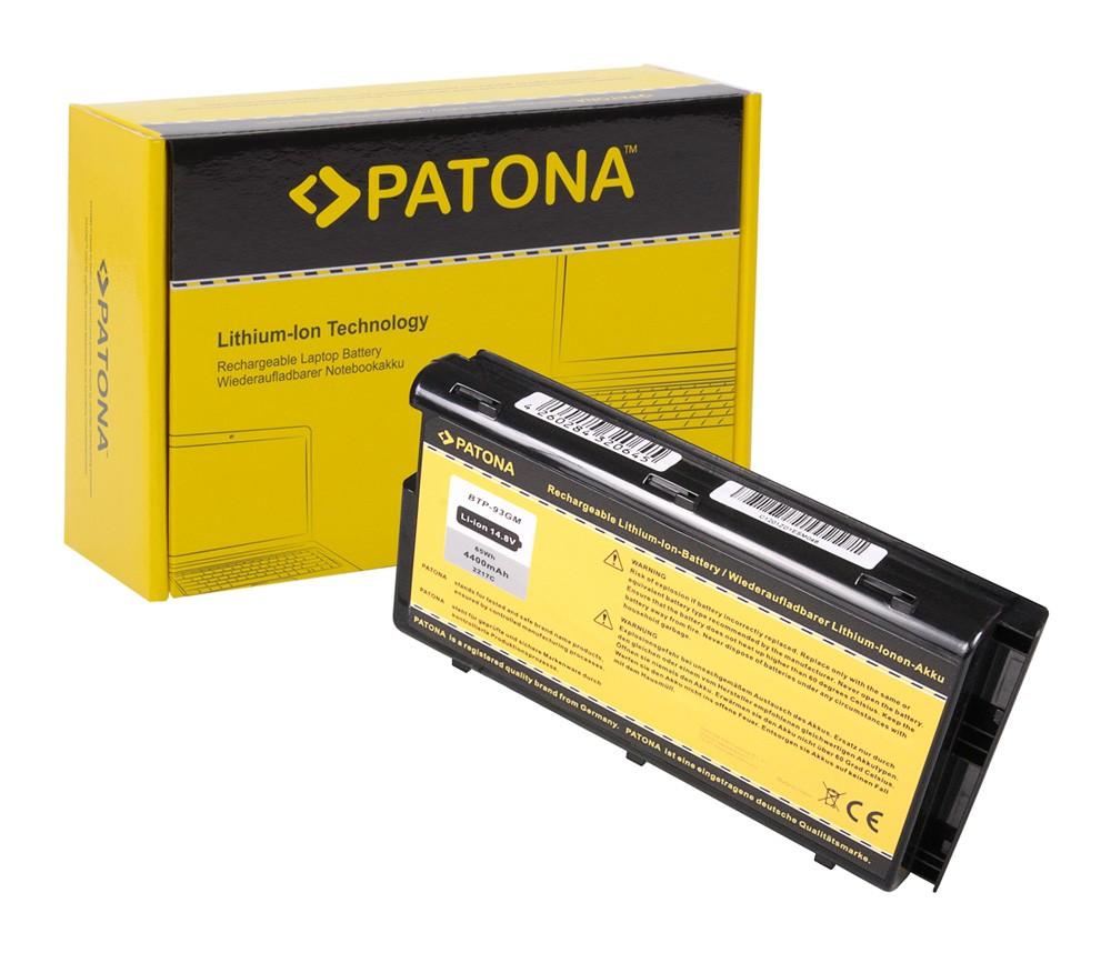 Battery f. Medion BTP-92GM BTP-93GM WIM2050 40010430 MD95400