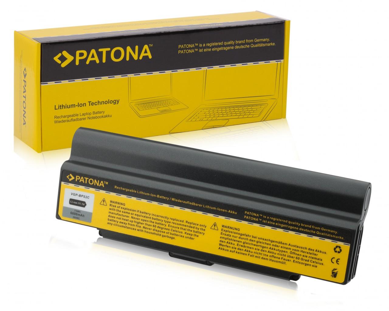 Battery f Sony VGP-BPL2 VGP-BPL2A VGP-BPL2C BPS2 6600mAh