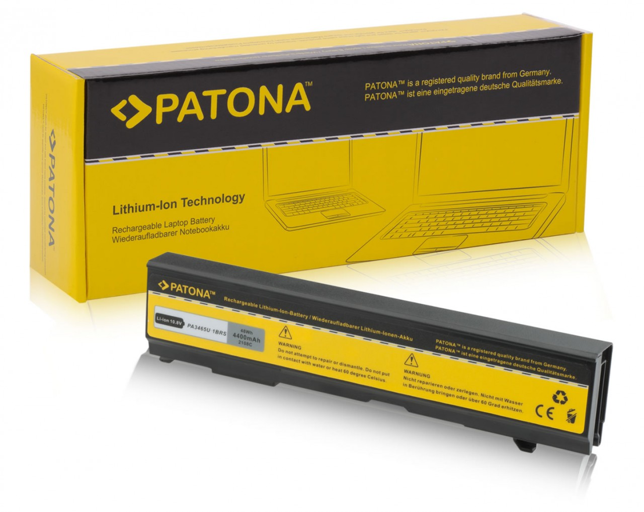 PATONA Battery f. Toshiba Dynabook AX/55A TW/750LS Equium A1