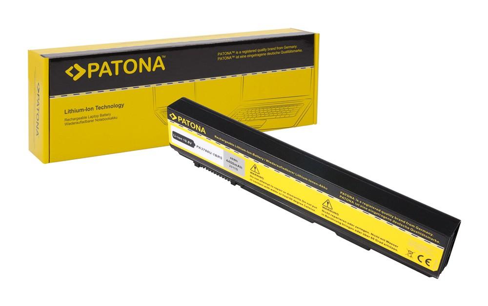 PATONA Battery f. Toshiba PA3788 PA3788U-1BRS PABAS223 B450