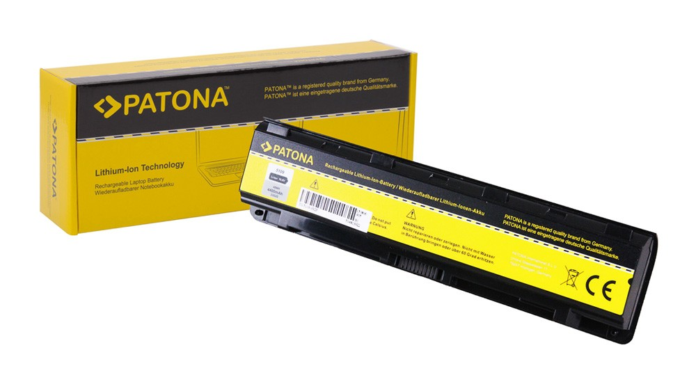 PATONA Battery f. Toshiba Satellite 5109 C50 C50D C50t C55