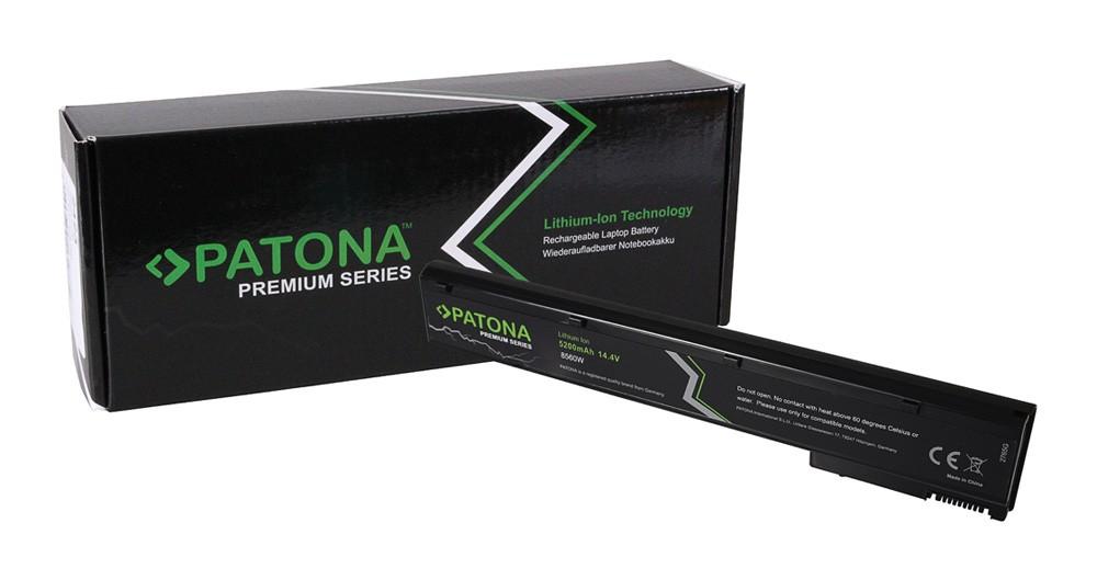 PATONA Premium Battery f. HP 8560W Elitebook 8560w 8560w Mob