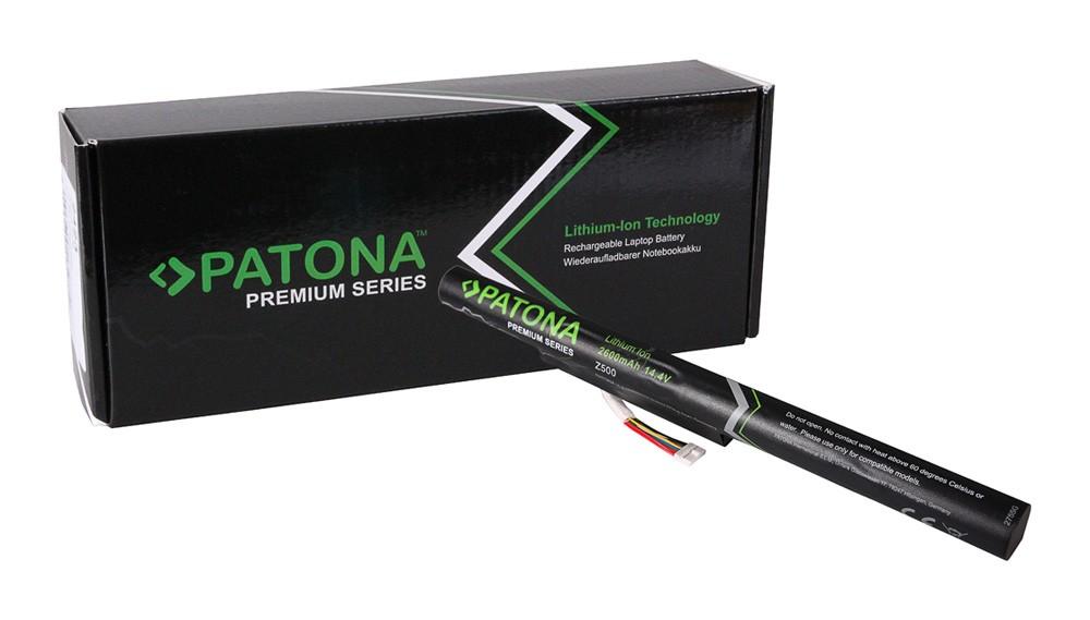 PATONA Premium Battery f. Lenovo Z500 Ideapad P500    P500 T