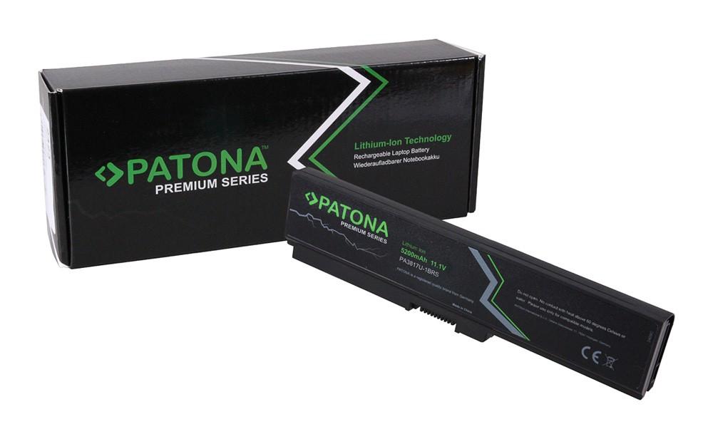 PATONA Premium Battery f. Toshiba PA3817 Satellite L700 L73