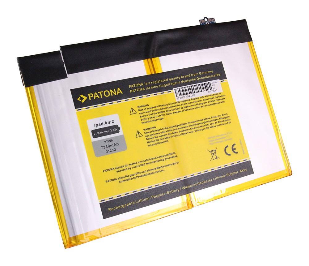 PATONA Battery f. Apple iPad Air 2 Apple A1547