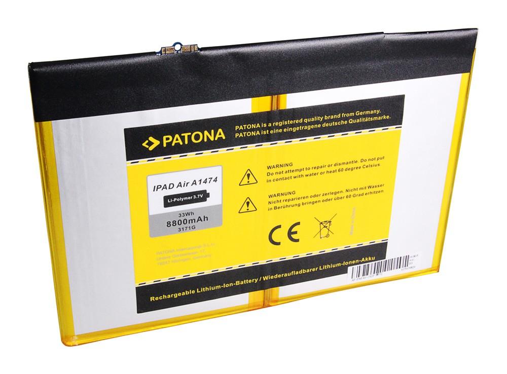 PATONA Battery f. Apple IPAD 5 IPAD Air A1474 iPad 5 A1474 A