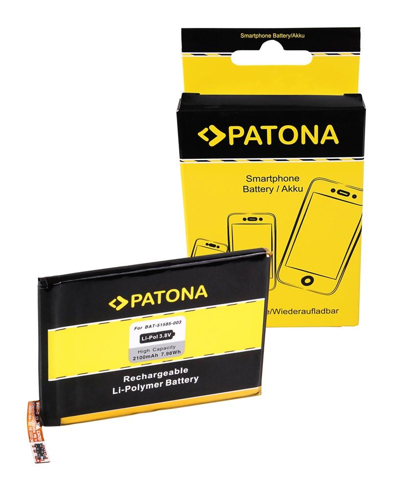 PATONA Battery f. Blackberry Q5 Q5 LTE SQR100-1 SQE100-3 BA
