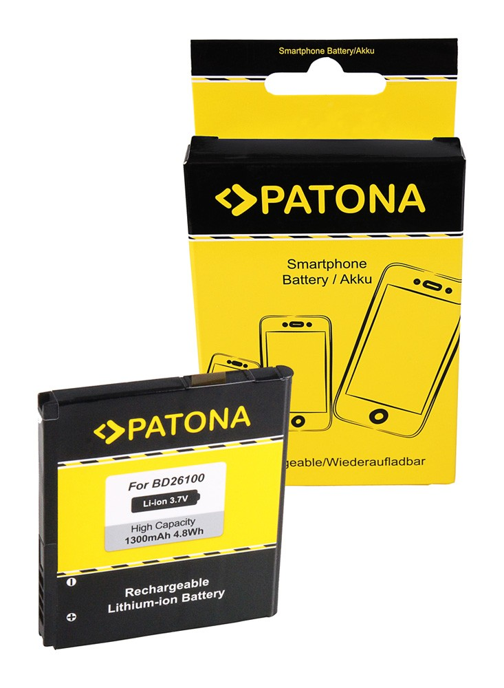 PATONA Battery for HTC A9191 Inspire 4G T8788 Desire HD Ace