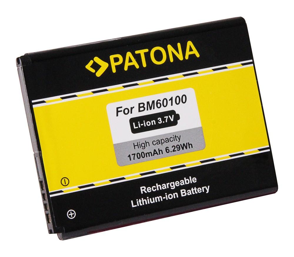 PATONA Battery f. HTC One SV, Desire 500, C520e BA-S890, BM