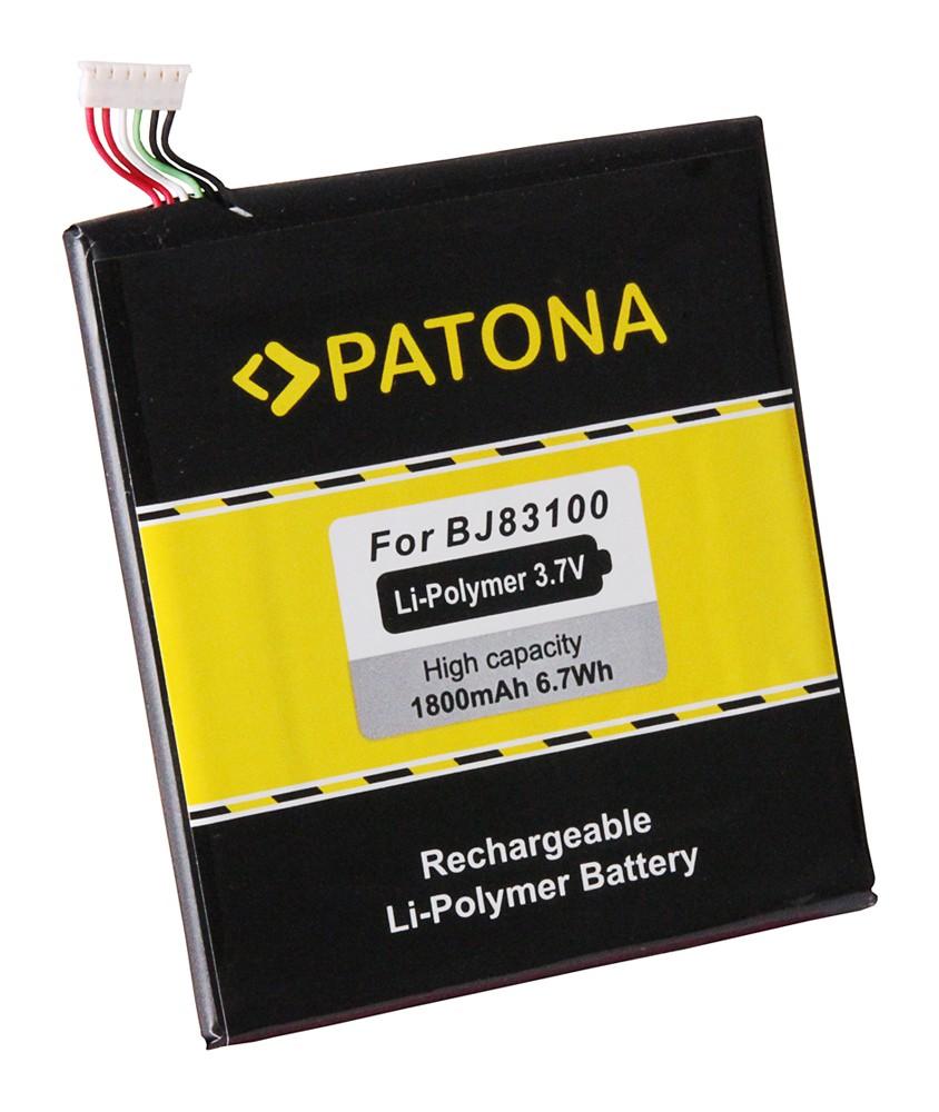 PATONA Battery f. HTC One X, One X+, One XL BJ83100, 35H001