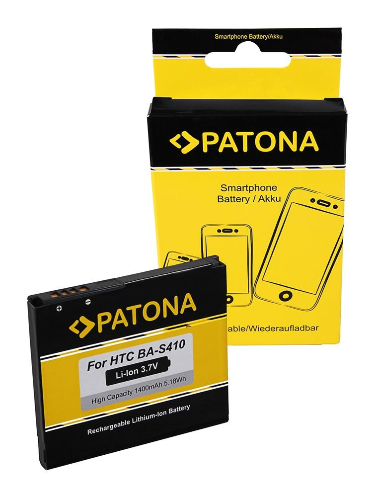 PATONA Battery f. HTC Bravo, Desire, Dragon, G5, Nexus One,