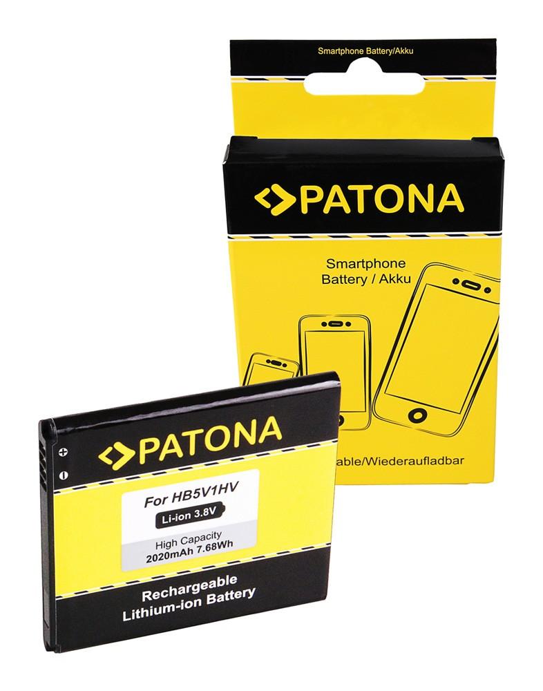 PATONA Battery f. Huawei HB5V1HV Huawei Ascend Y300