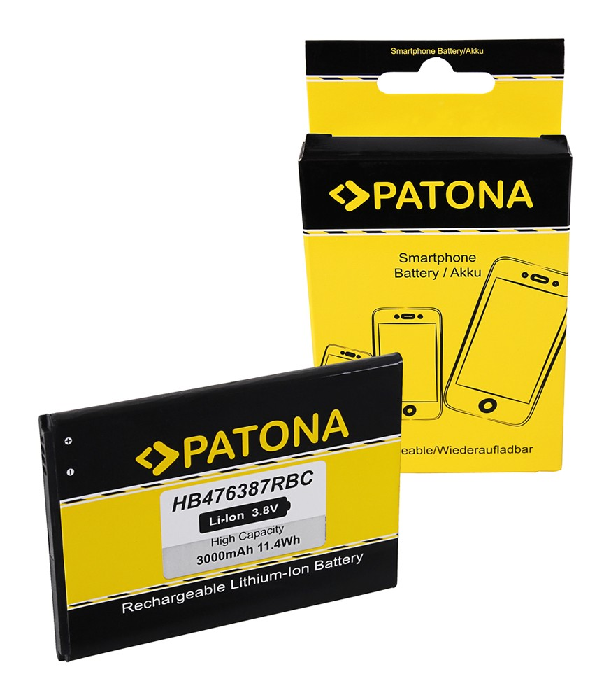 PATONA Battery f. Huawei Honor 3X, 3X pro, Ascend G750, G750
