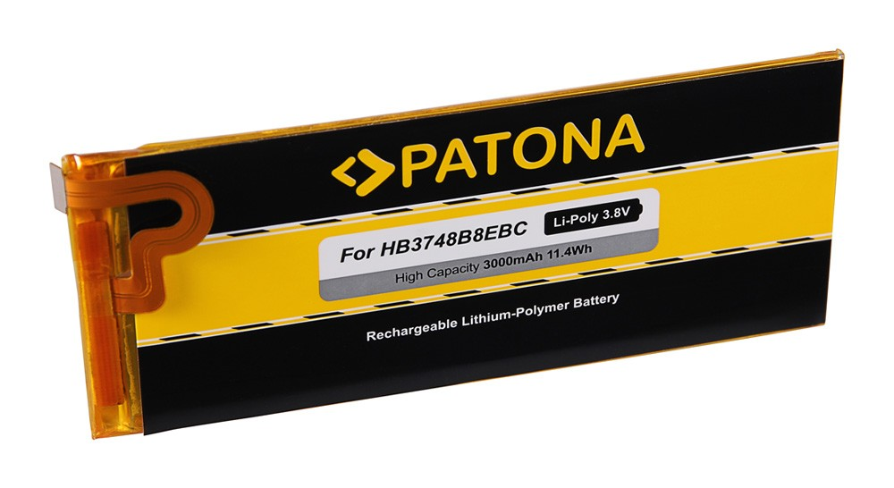 PATONA Battery f. Huawei Ascend G7 Plus, G7-TL100, RIO-AL00,