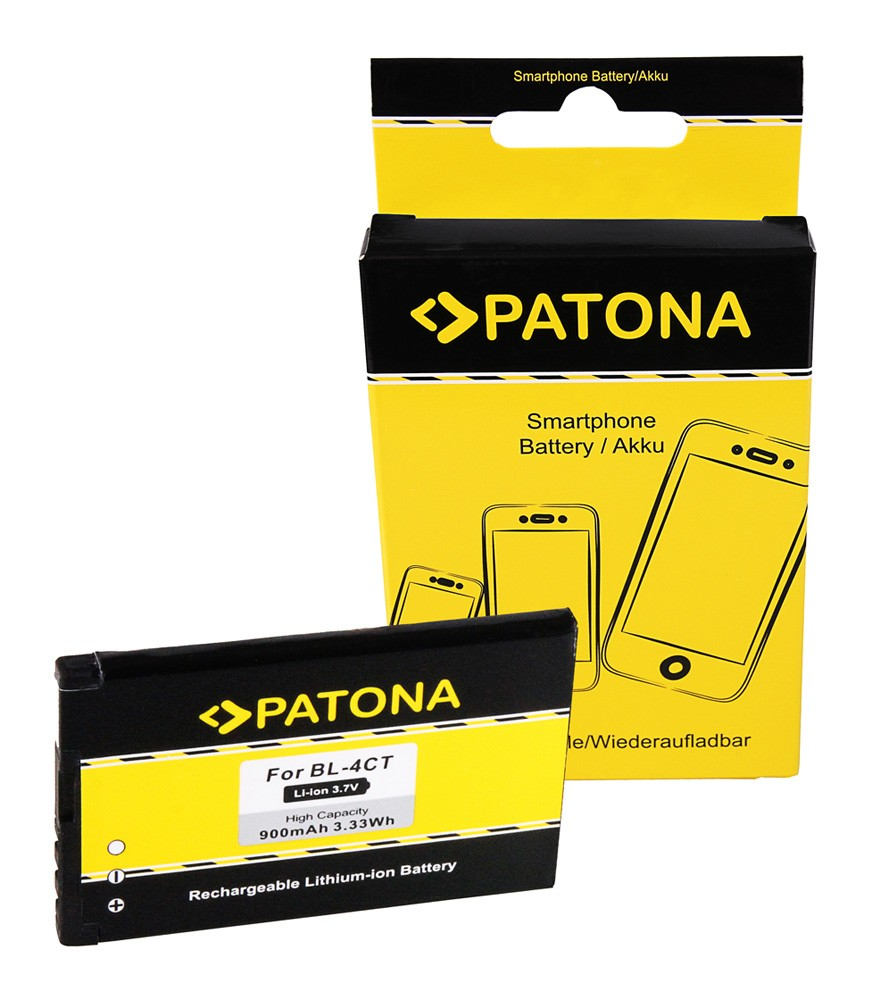 PATONA Battery f. Nokia BL-4CT 2720 fold 5310 5630 XpressMus