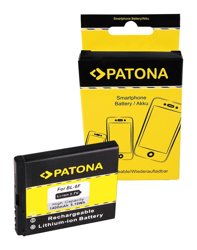 PATONA Battery f Nokia BL6F Nokia BL-6F Nokia N78 Nokia N79