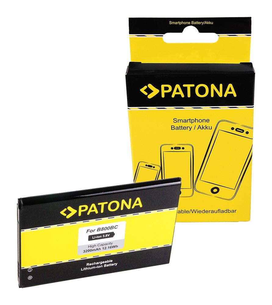 PATONA Battery f Samsung B800 Galaxy Note 3 SC-01F SCL22 SGH
