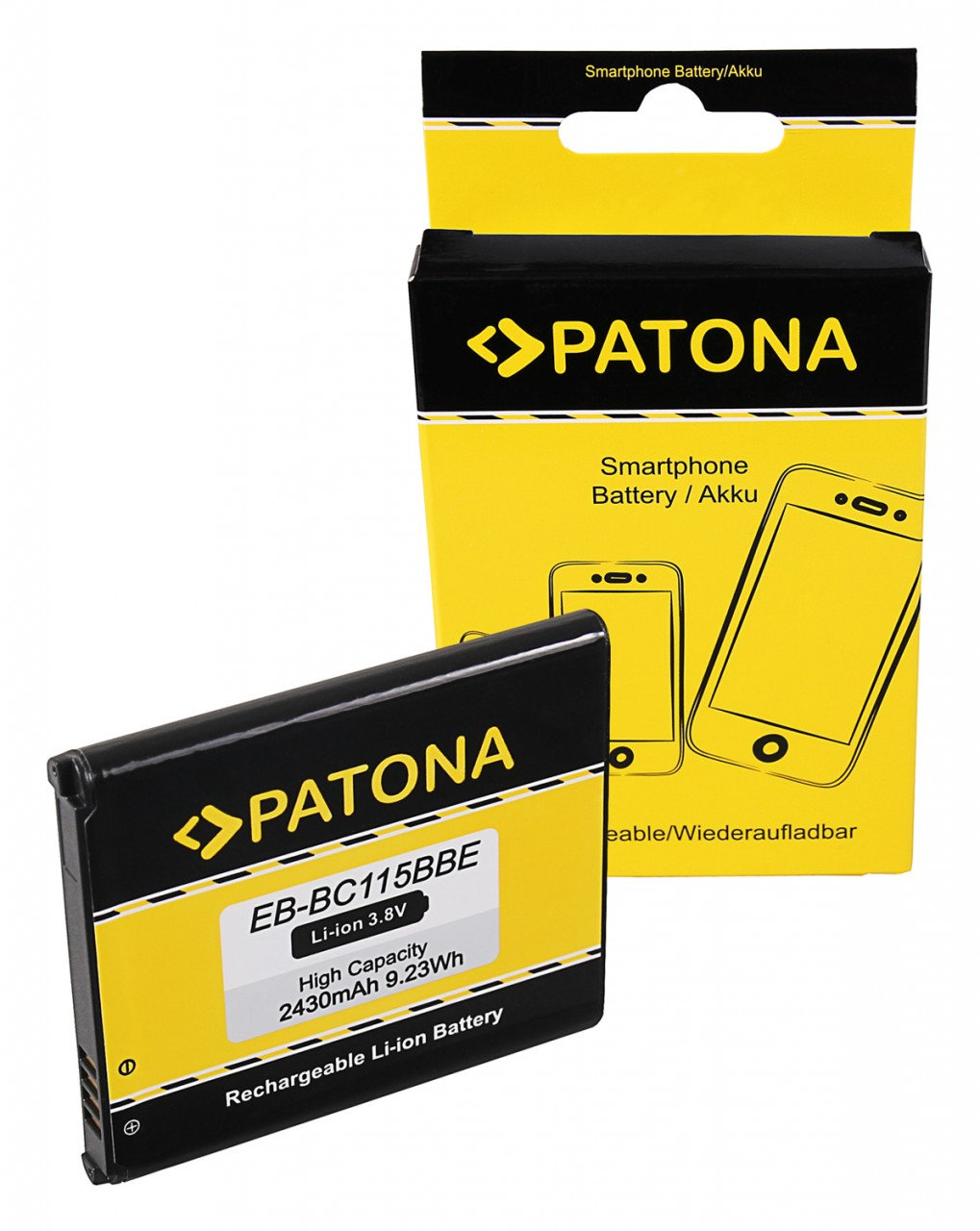PATONA Battery f. Samsung Galaxy K Zoom EB-BC115BBE