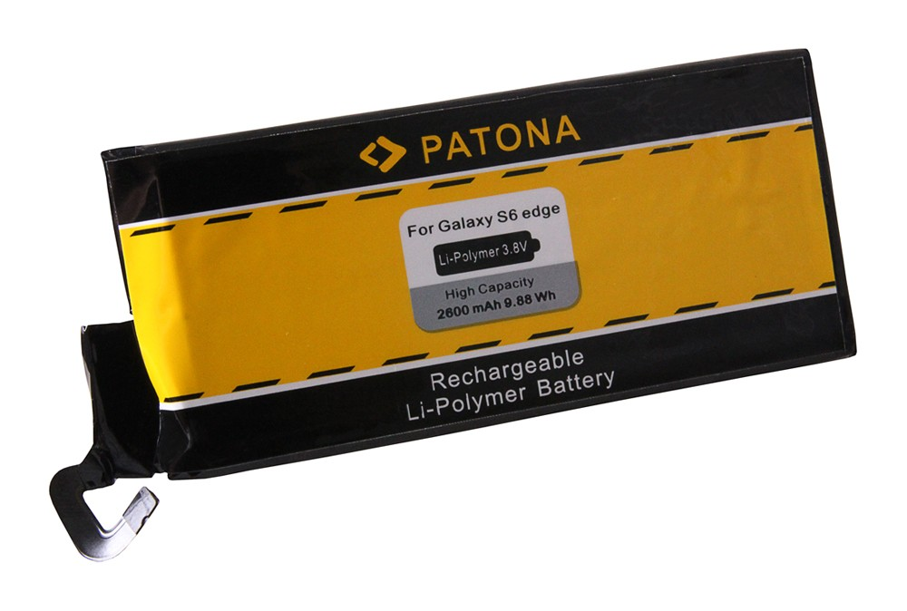 PATONA Battery f. Samsung S6 Edge EB-BG925ABE, SM-G925