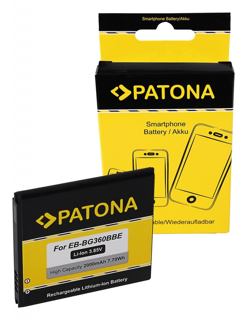 PATONA Akku f. Samsung Galaxy Core Prime EB-BG360BBE EB-BG36