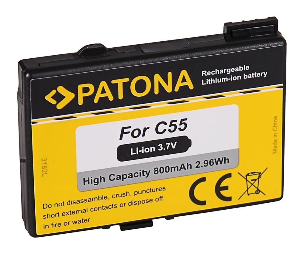 PATONA Battery f. Siemens C55 Gigaset 4015 Micro S44 S440 S4