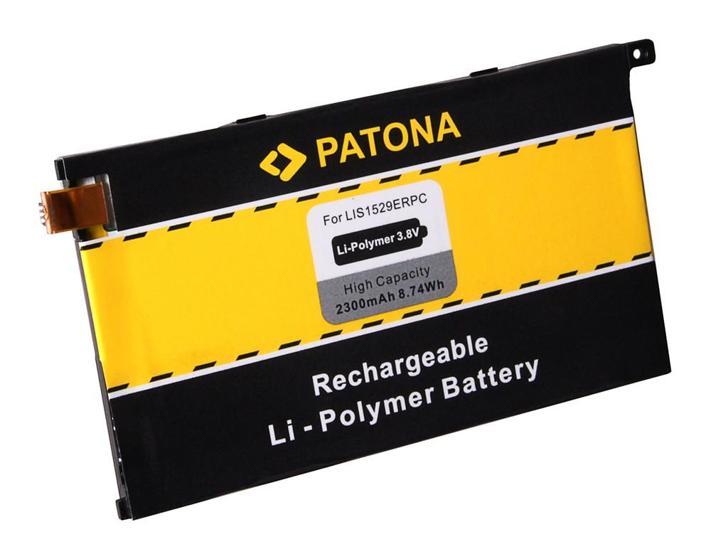 PATONA Battery f. Sony Xperia Z1 Compact, D5503 1274-3419,