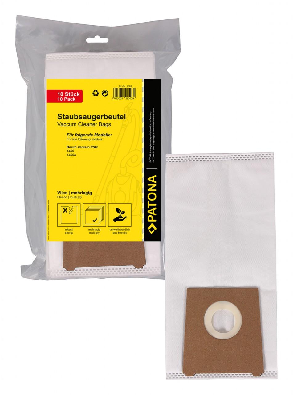 PATONA 10 STOFZUIGER bag multilayered fleece f. Bosch Ventar