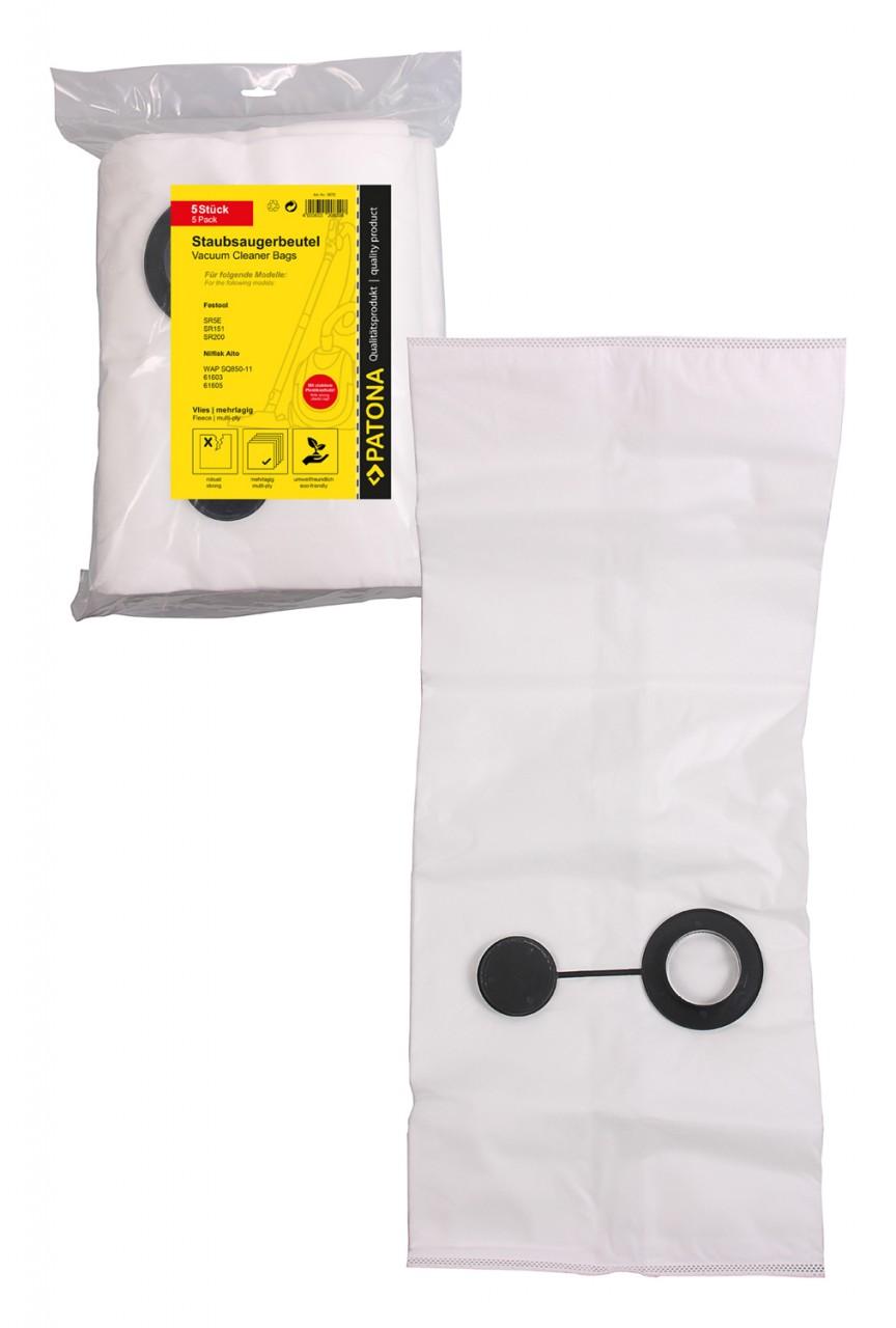 PATONA 5 STOFZUIGER bag multilayer fleece f. Festool SR5E SR