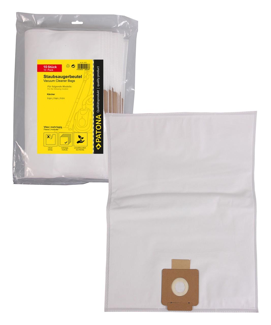 PATONA 10 STOFZUIGER bag multi layer fleece f. Kärcher T 12/