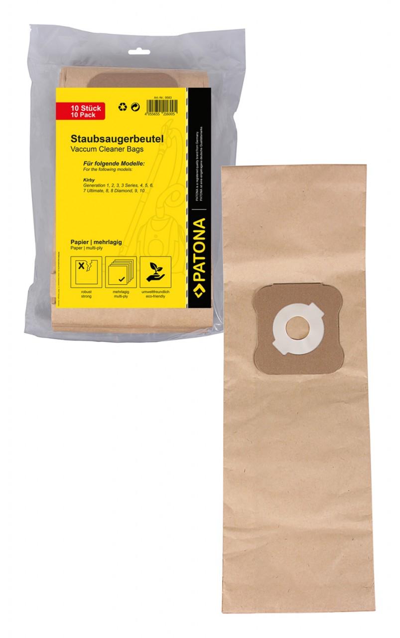 PATONA 10 vacuum paper cleaner bag multilayered f. Kirby G1