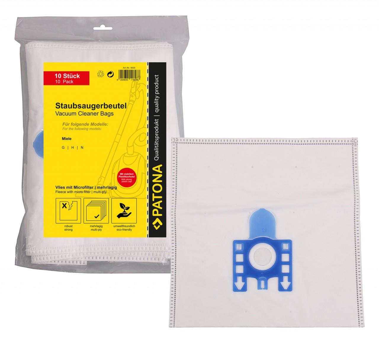 PATONA 10 STOFZUIGER bag multi layer fleece incl. Microfilte