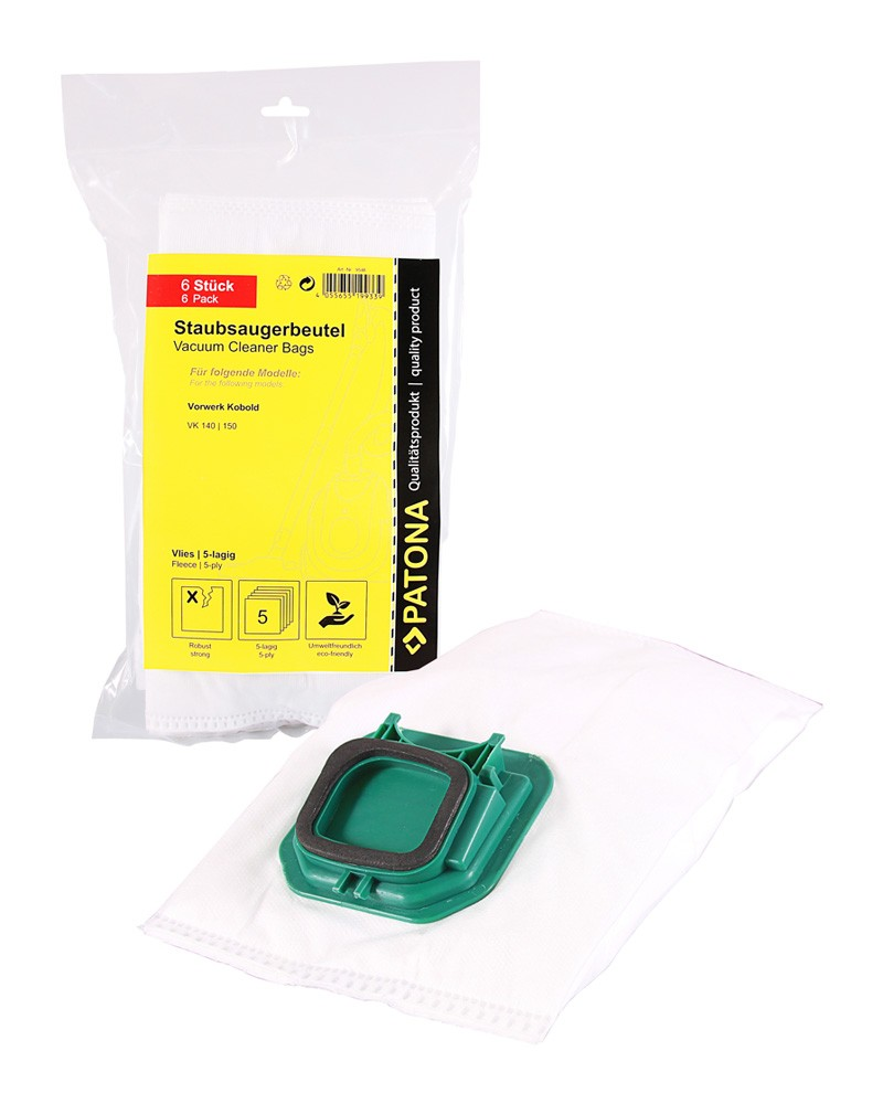 PATONA 6 STOFZUIGER bag multi layer premium fleece incl. Mic