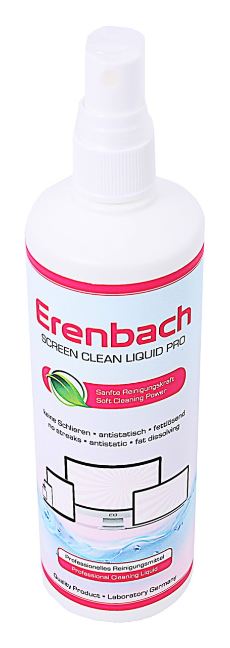 Erenbach 250 ml professional Cleaning Liquid for Display Scr